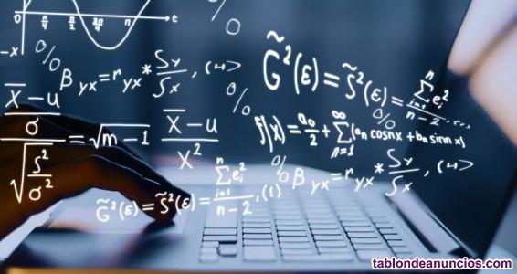 Clases particulares a domicilio de matemáticas, física y química