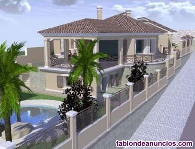 Terreno con villa independiente