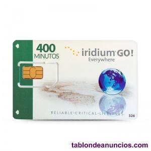 Recarga tu terminal satélite iridium go