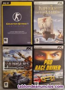 Videojuegos pc cd-rom (lote 4)