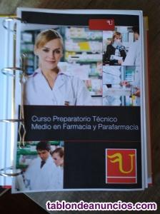 Farmacia y parafarmacia fp grado medio