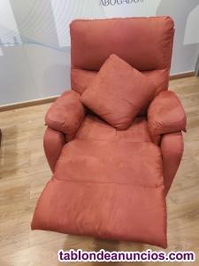 Sillon relax reclinable +cojin de regalo