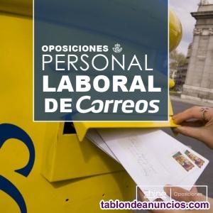 Temario oposición de correos