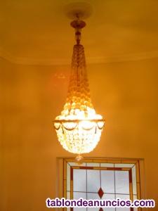 Lámpara de techo antigua