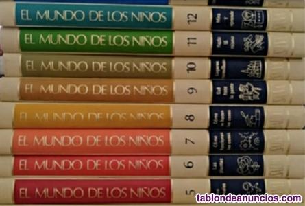 Colección de libros El mundo de los niños
