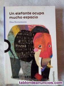 Vendo libro un elefante ocupa mucho espacio - loqueleo