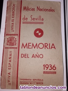 Milicias nacionales año 1936