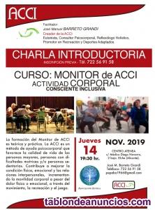 14nov CHARLA INFORM CURSO MONITOR DE LA ACTIVIDAD CORPORAL CONSCIENTE INCLUSIVA