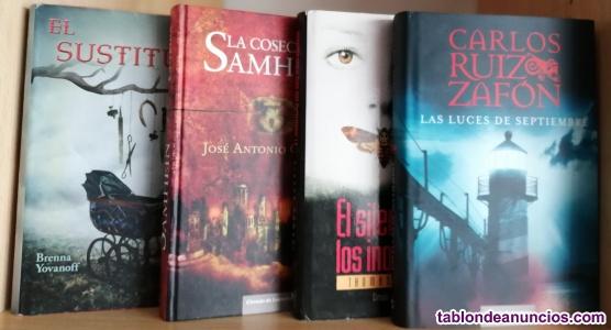Varios libros de misterio