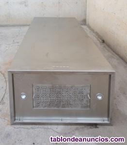 Campana extractora inox 90x55x202cm