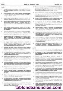TEMARIO OPOSICIONES PRIMARIA INGLES MURCIA