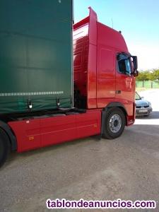 Cabeza tractora (Volvo-500Cv)