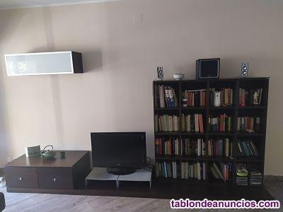 Mueble salón librería