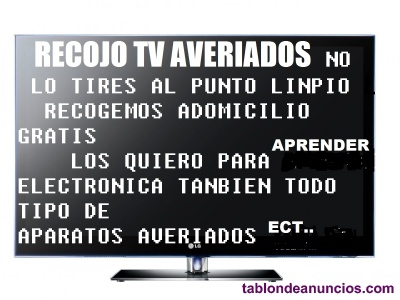 Tv smart lcd gratis averiados