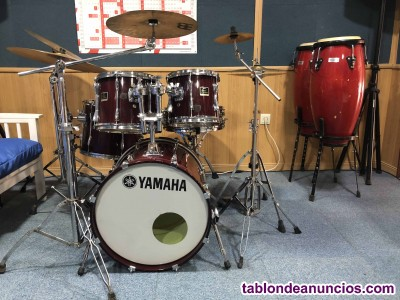 Bateria stage custom + set congas