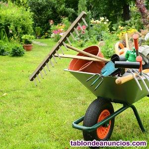 Jardinero/a con discapacidad