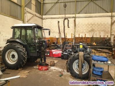 Mantenimiento y reparación de tractores