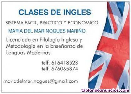 Clases particulares de ingles, frances y lengua española