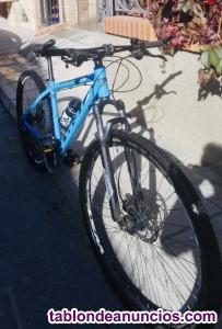 Vendo bicicleta de montaña en perfecto estado
