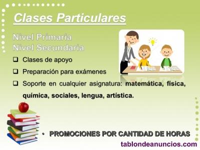 Clases particulares / asesorias