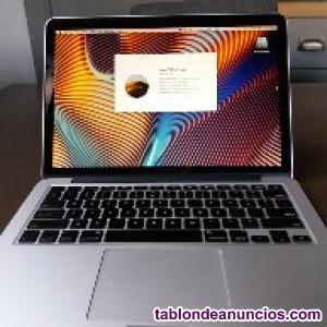 Macbook pro 13 pulgadas, mid 2015 con pantalla retina lcd