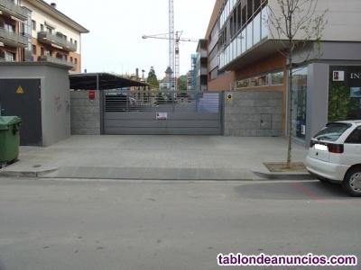 Plaza de garaje en alquiler en C. Llinars 33 de Cardedeu