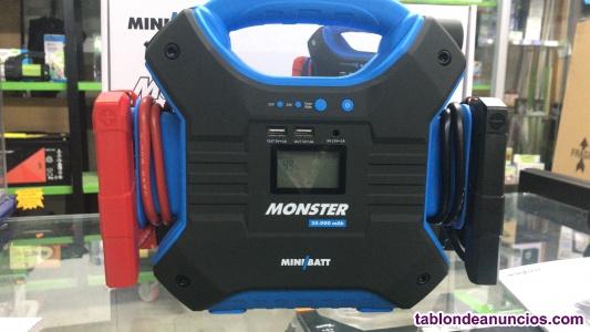 Arrancador monster 12v/24v minbatt