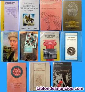 Libros de Historia y de Arte