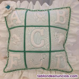 """""""abc""""  funda de almohada abc.nueva"""