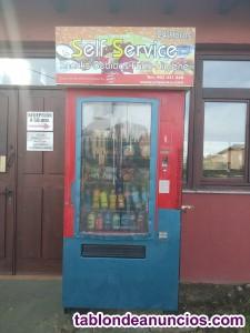 Vendo maquina de snack y bebidas