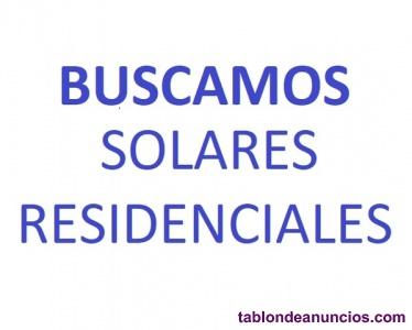 Busco solares para construir viviendas en valencia españa