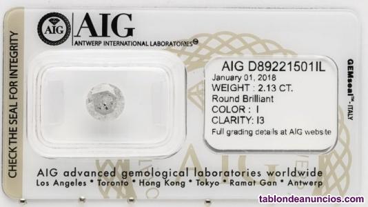 Venta lote de 11 Diamantes con certificados
