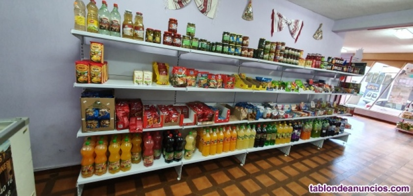 Vendo vitrina y estanteria tienda alimentacion