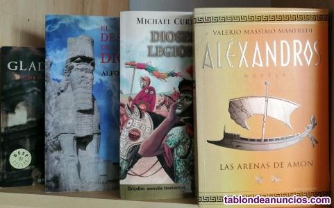 4 títulos novela historica