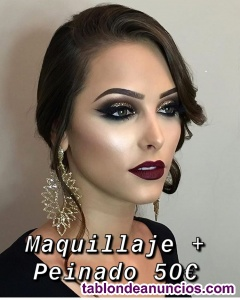 Oferta! maquilladora a domicilio