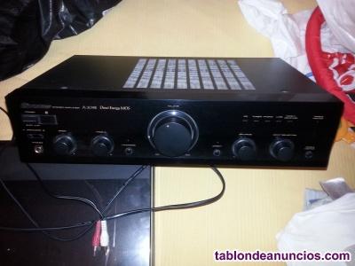 Amplificador pioneer tocadiscos son y cd sony