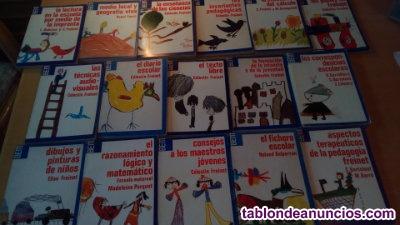 Libros pedagogía  freinet/escuela popular