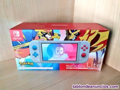 Nintendo switch lite con pokemon