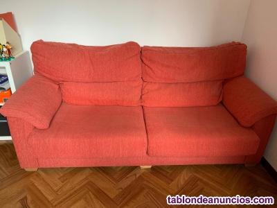 Oportunidad!! sofá semi nuevo dos plazas