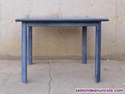 Mesa azul 100x75cm