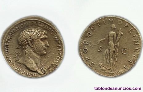 Reproducciones de monedas antiguas (Romanas)
