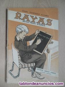 Cartilla rayas segunda parte 1958 lectura