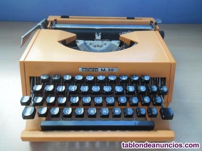 Maquina de escribir antares m-30 vintage