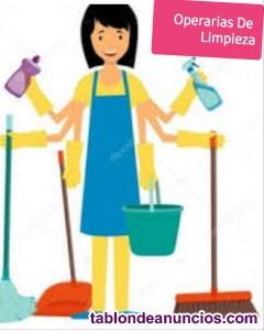 Operarias de limpieza