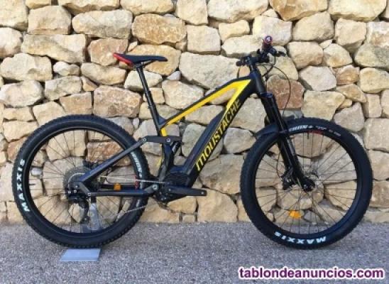 Bicicleta eléctrica moustache trail 7 carbon talla l
