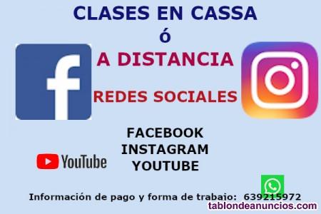 Clases redes sociales e internet