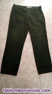Vendo pantalón de pana verde cortefiel