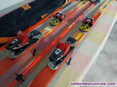 Esquís slalom, volqui