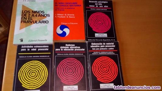 Llibros sobre educación infantil para padres y profesores