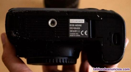 Canon eos 6d más objetivo 28-135